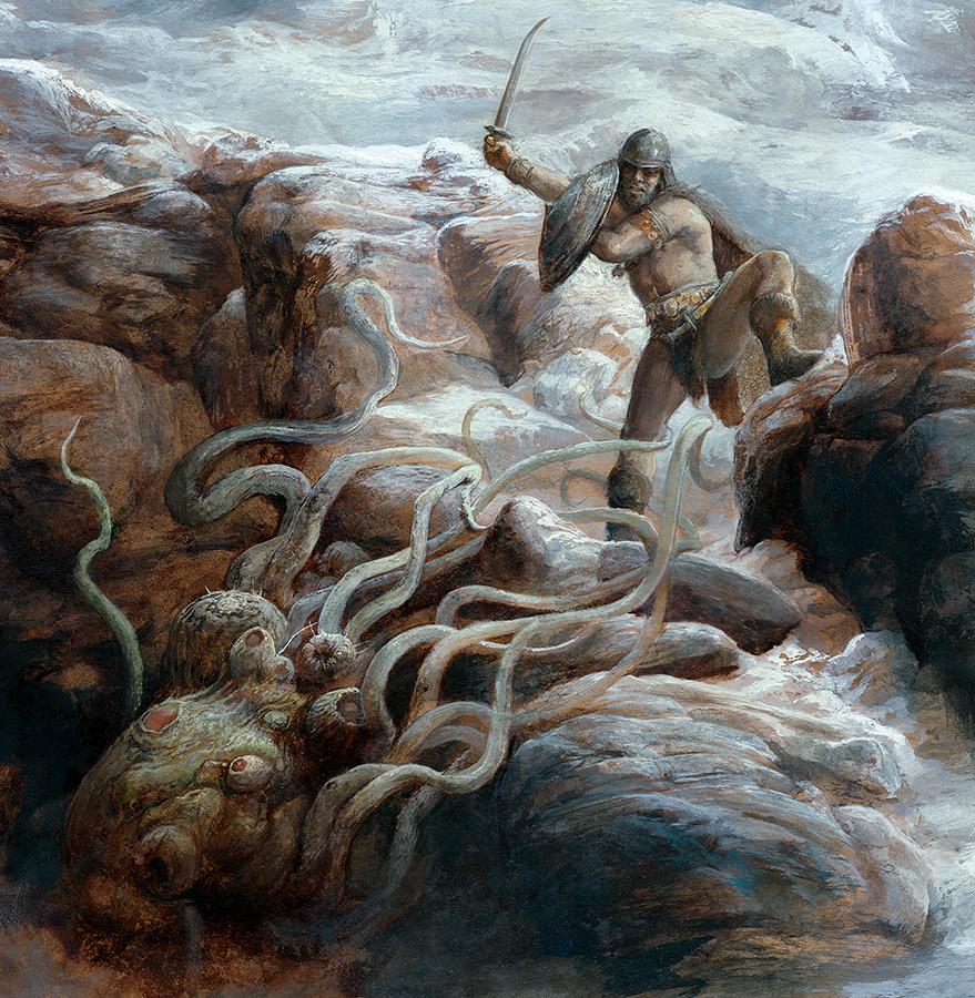Los tentáculos del monstruo