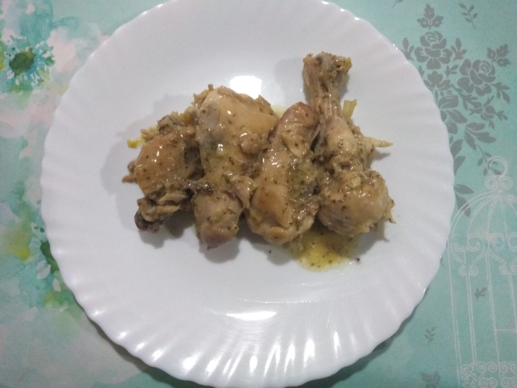 Pollo acabado