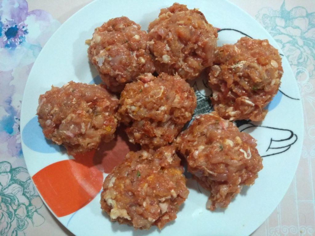 7 bolas de carne