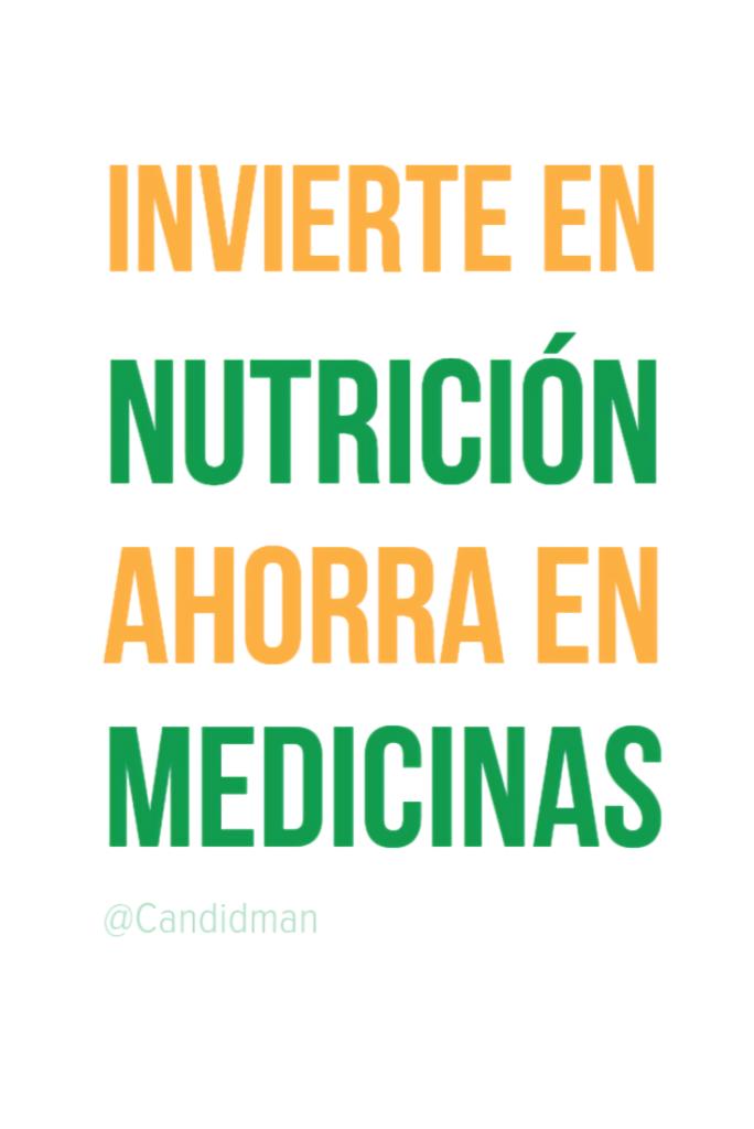 buena comida es medicina natural