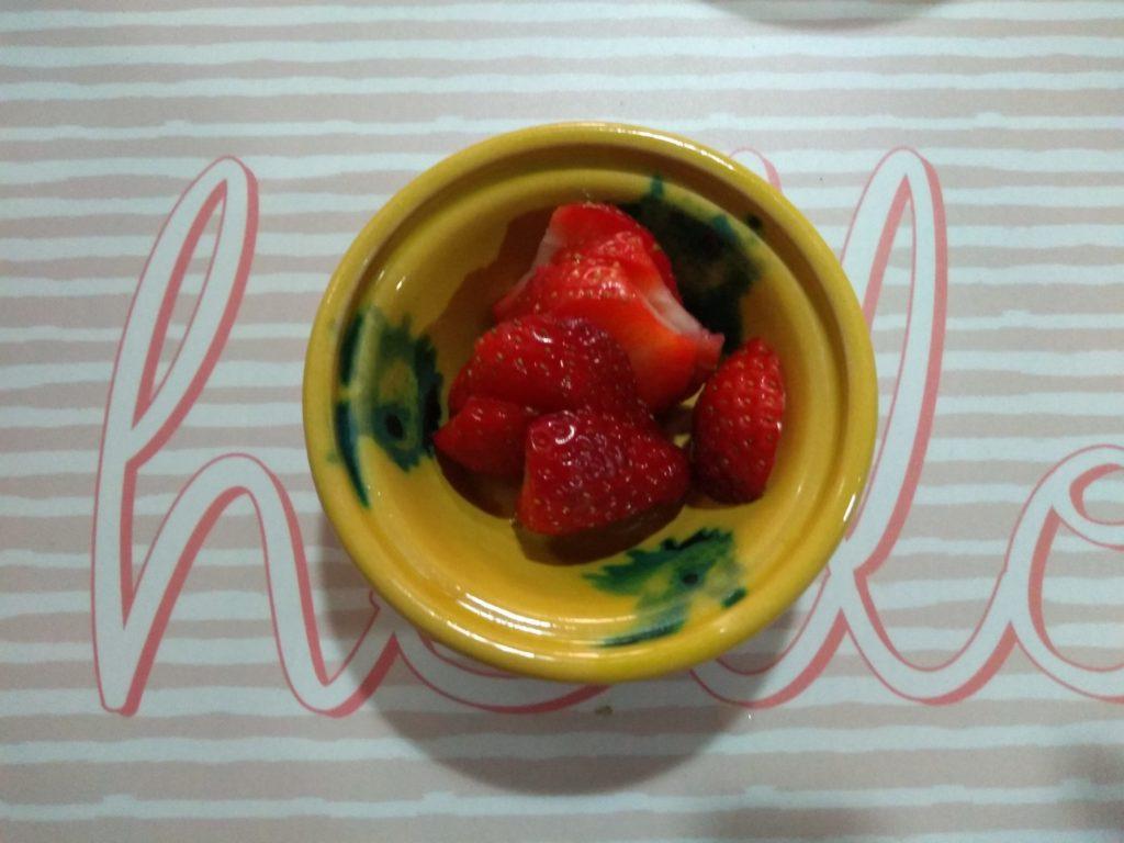 Fresas decorativas