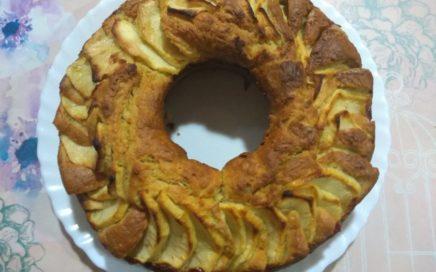 Bizcocho de manzana sin azúcar ¡dulce tentación!