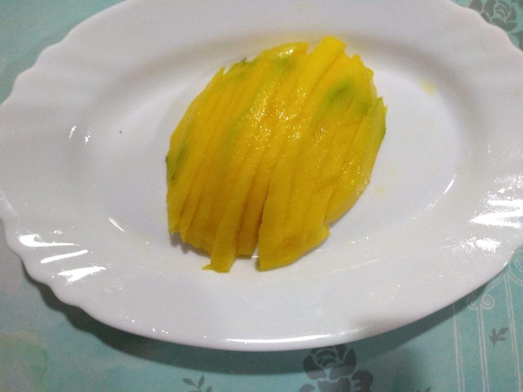 La ensalada de los reyes con mango y aguacate