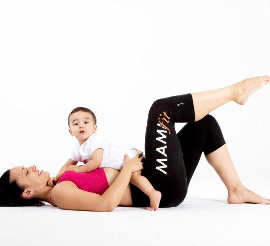 El deporte de mamá