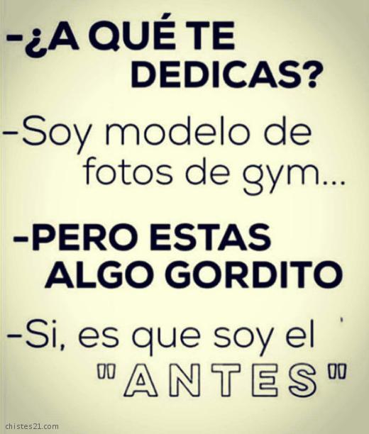 Porque en el gym hay un antes y un después