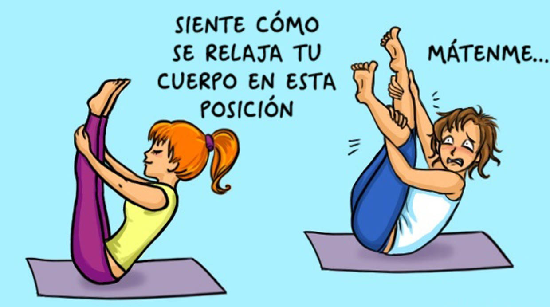 Nadie ha dicho que el yoga fuera fácil.