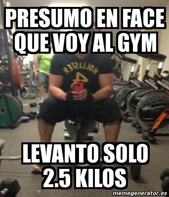 hay muchos levantadores de móvil en el gym