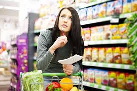 hacer la lista de la compra y comprar sólo lo apuntado nos permite controlar lo que comemos