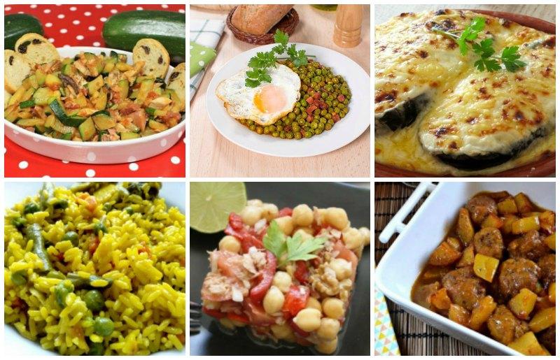 hacer el menú semanal hace que sepamos lo que necesitamos comprar para cada día