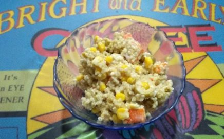 Ensalada de surimi y quinoa