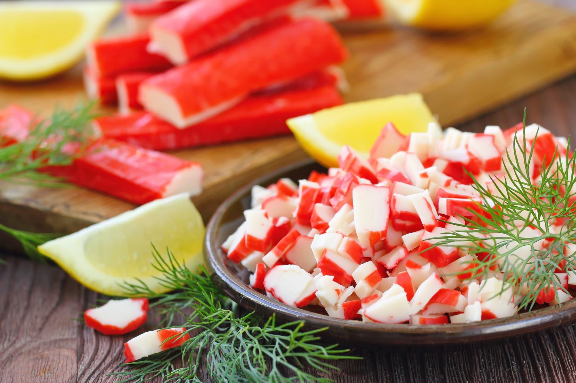 Surími fuente de proteinas y producto procesado de pescado.