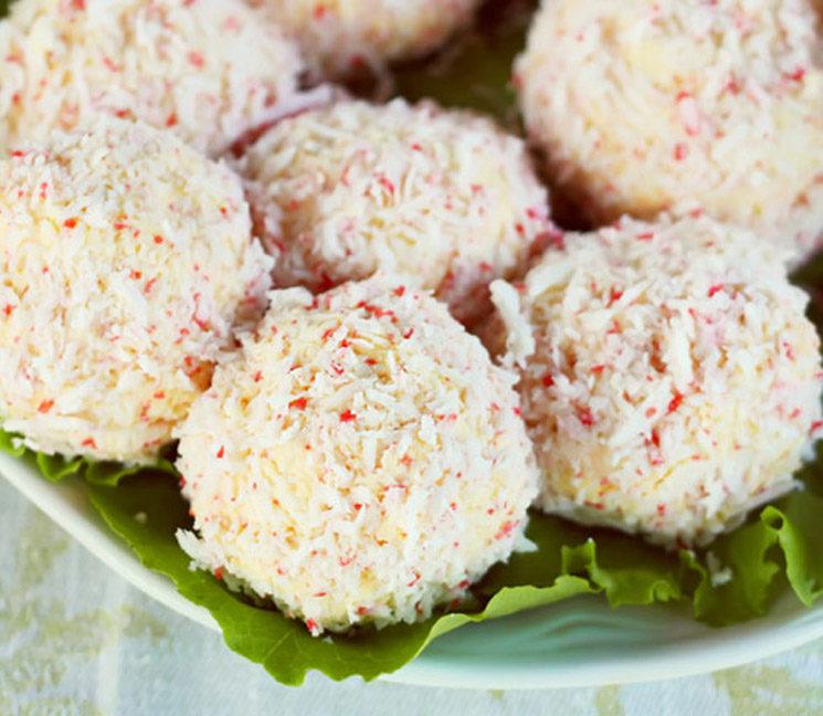 Bonitas de arroz con surimi