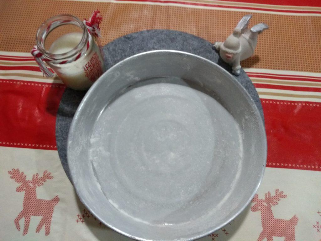 Molde enharinado Bizcocho navideño de calabaza y manzana