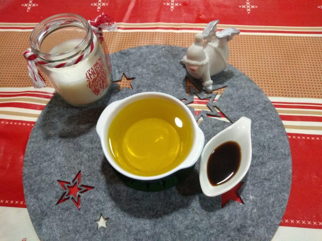 Aceite de oliva y vainilla Bizcocho navideño de calabaza y manzana
