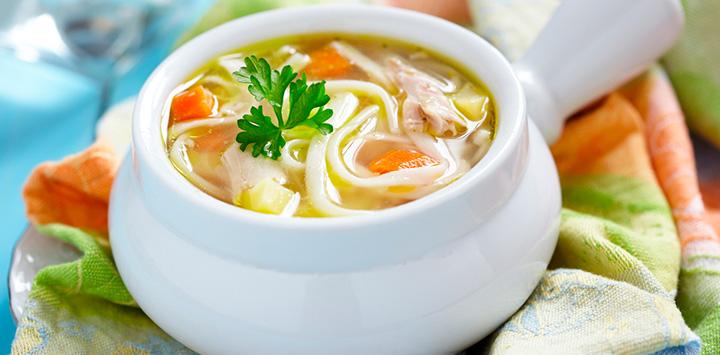 Sopa con verduras