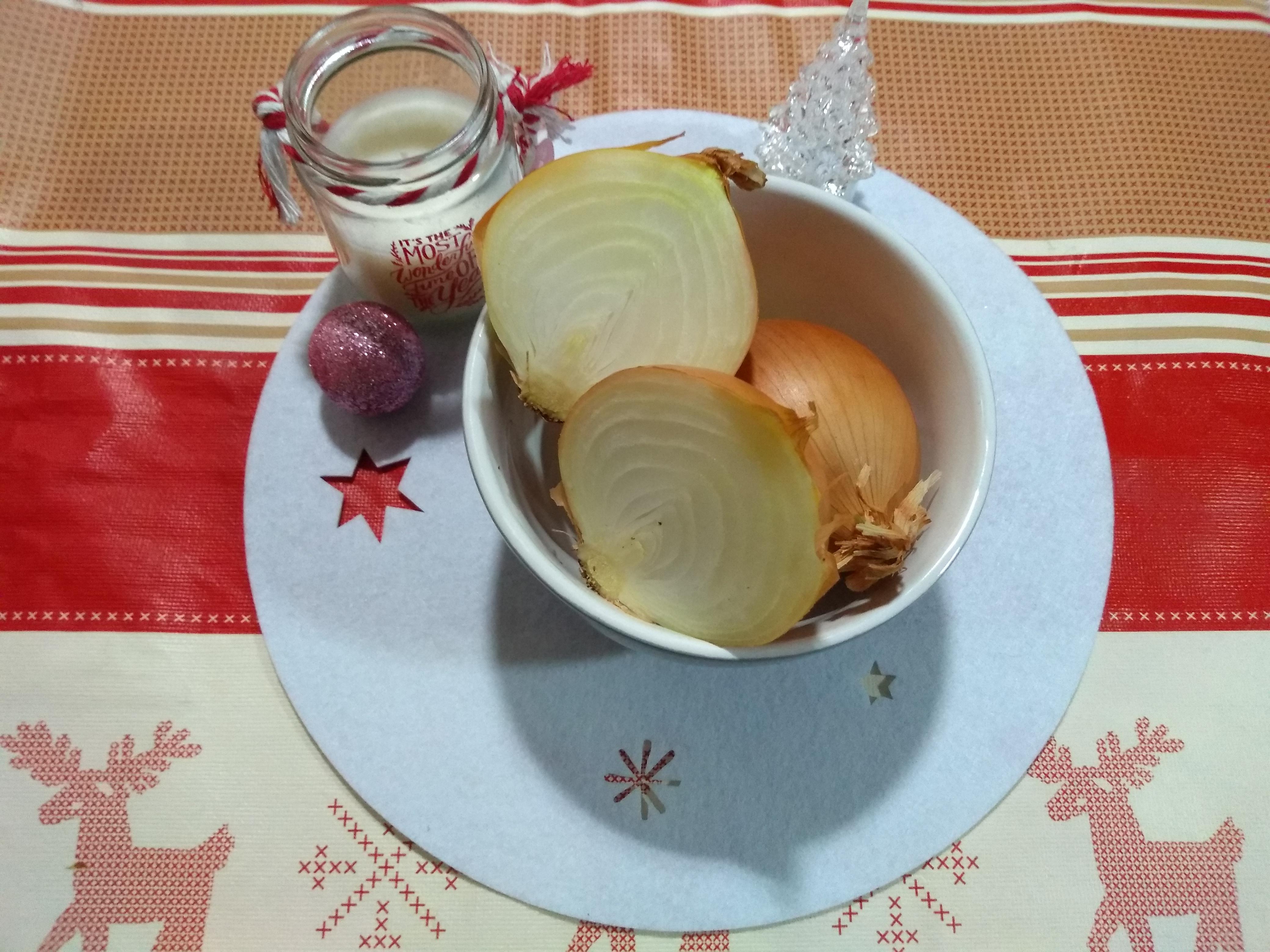 Cebollas para la salsa