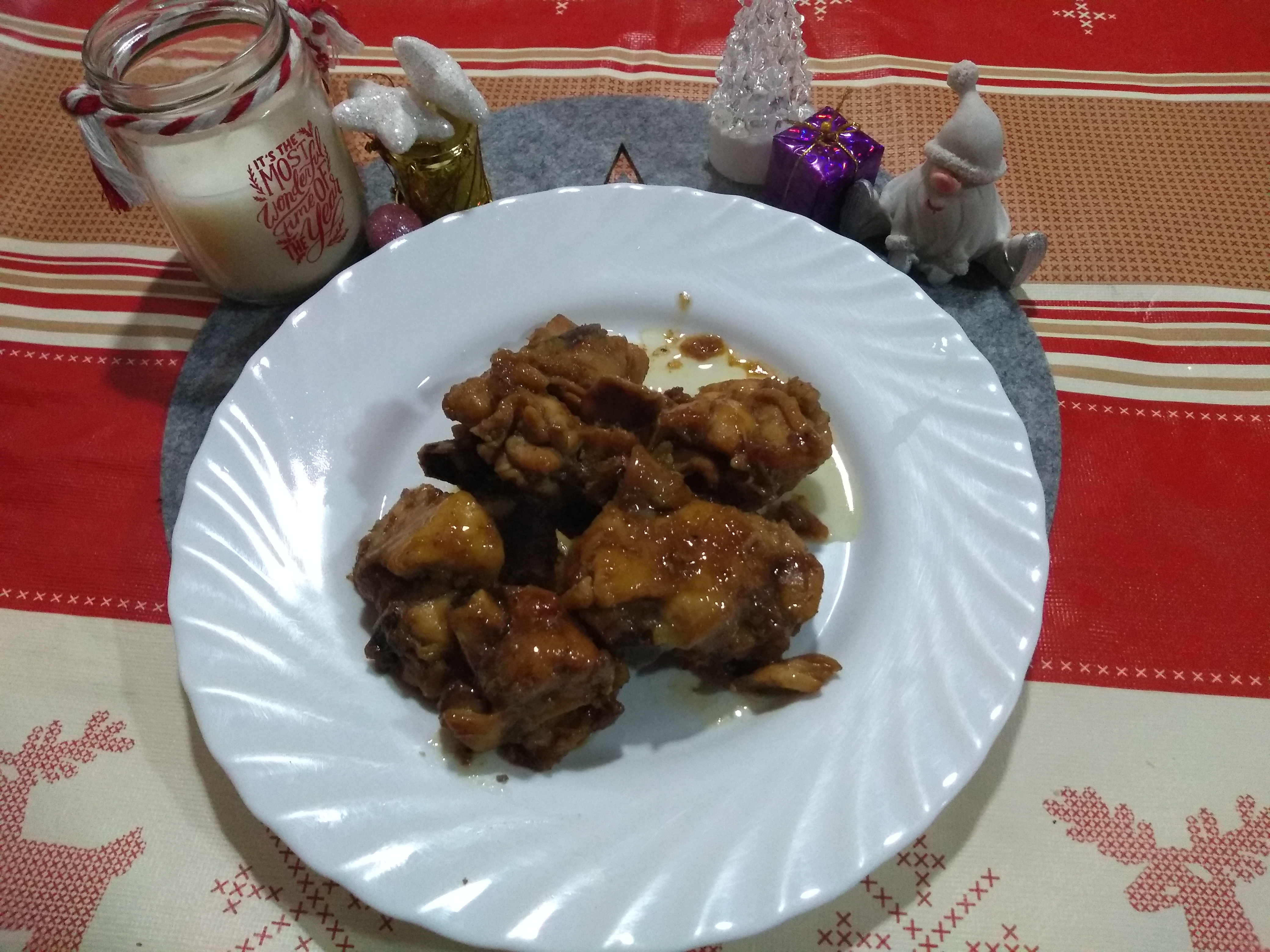 Pollo a la Miel por Navidad ¡Genial!