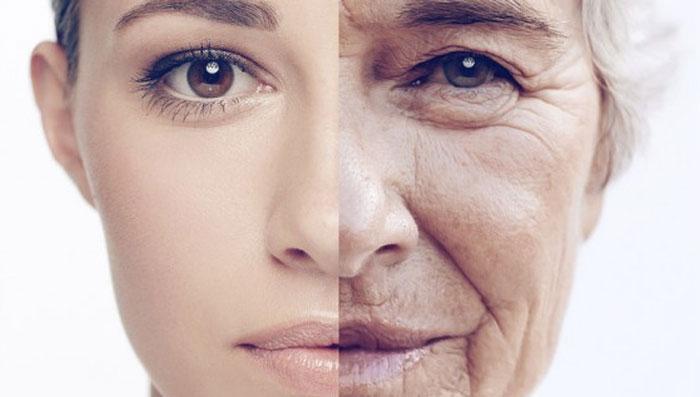 mujer joven y anciana