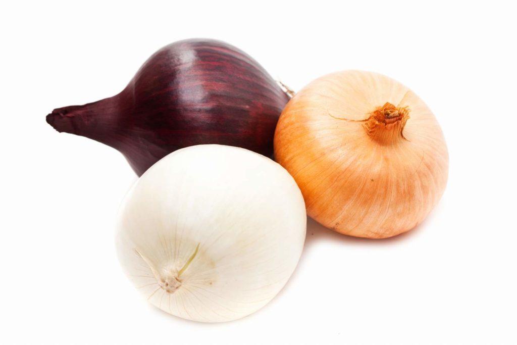 Cebolla de colores