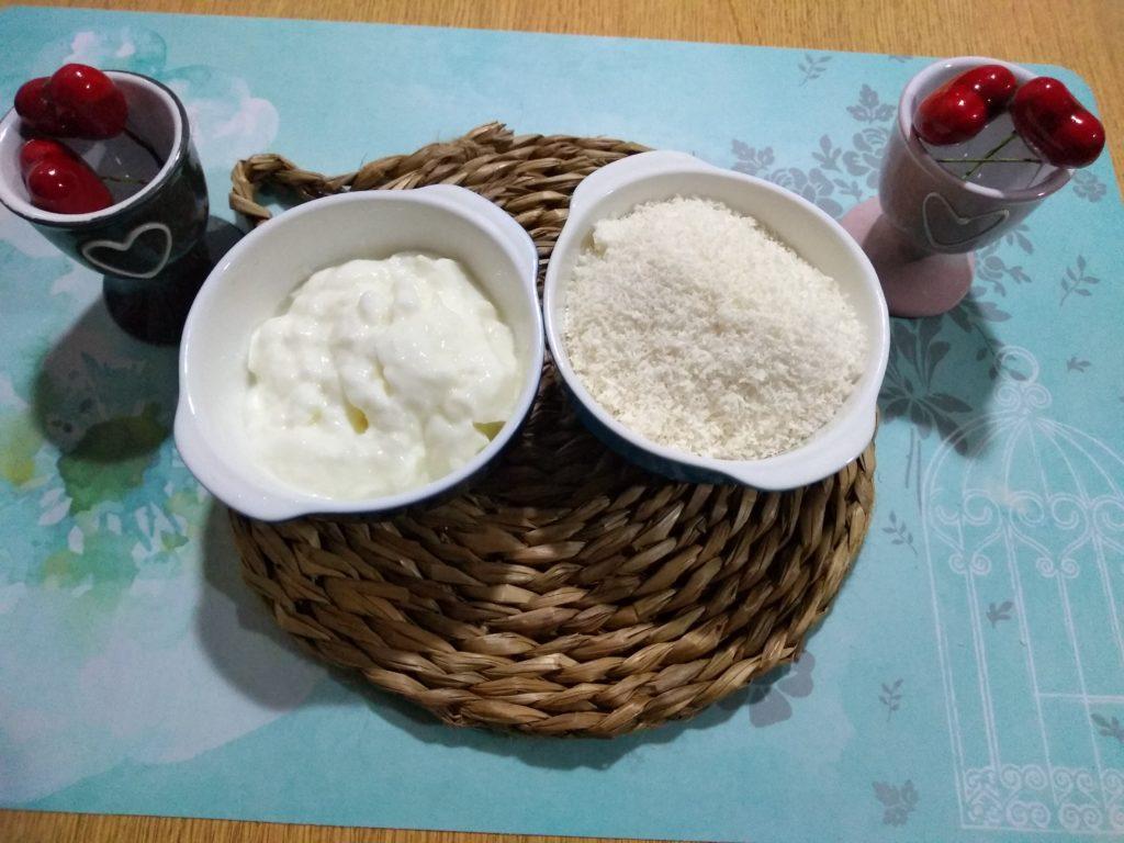 yogur y coco