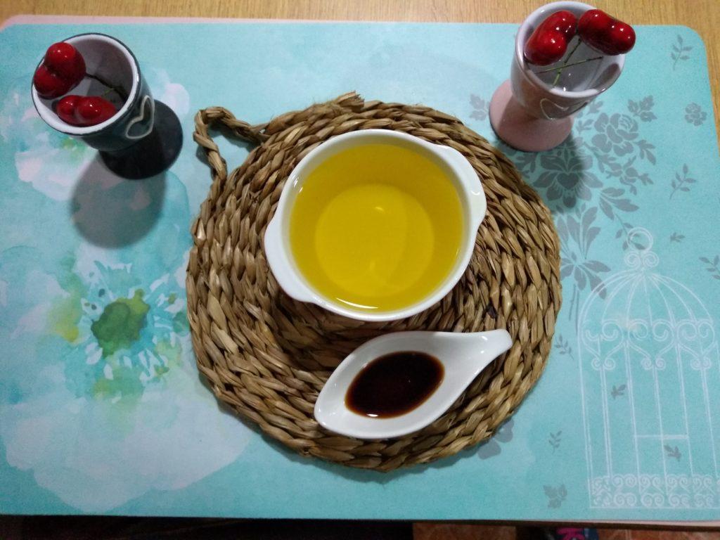 aceite y vainilla