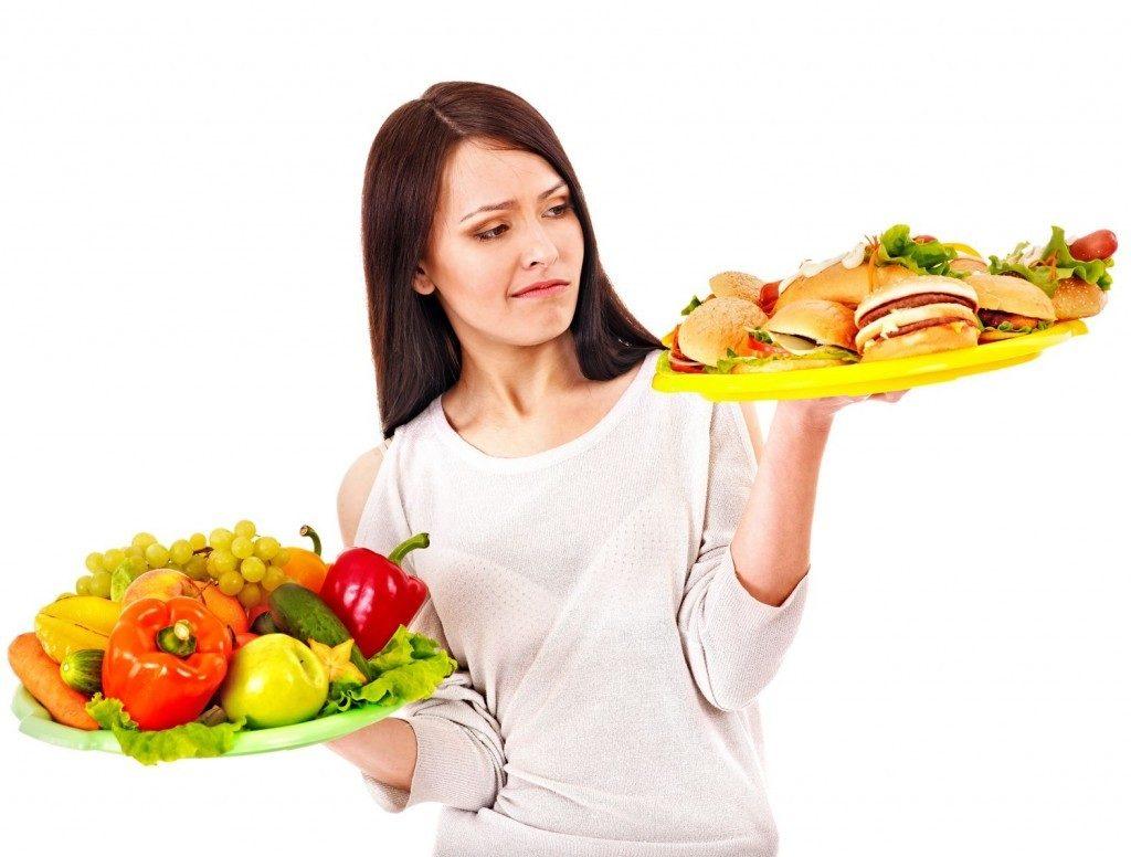 Elegir comida rápida o sana es difícil Fast food ¡la vía rápida para la enfermedad!