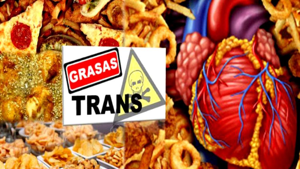 Grasas trans Fast food ¡la vía rápida para la enfermedad!