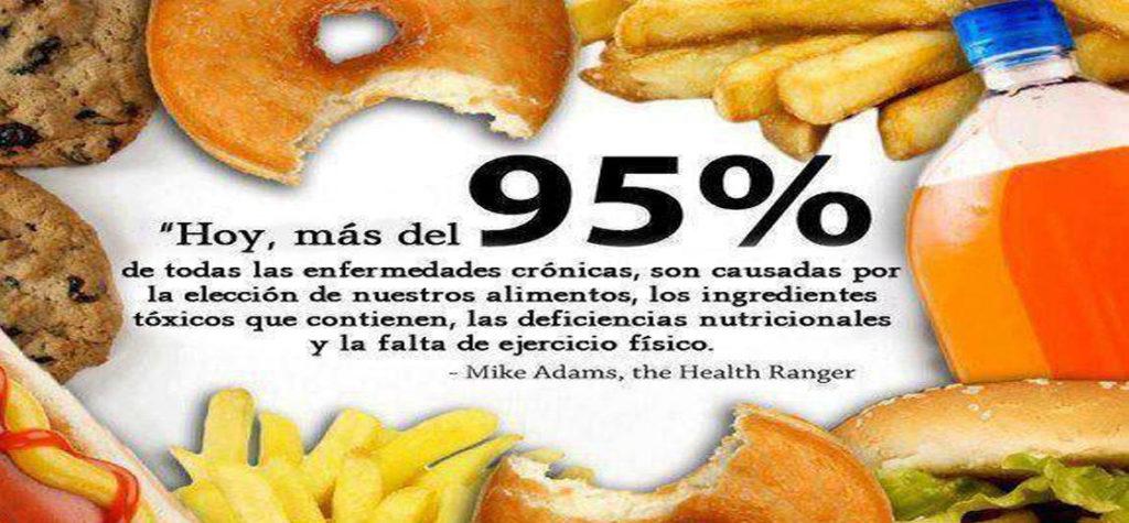 La comida rápida genera enfermedades