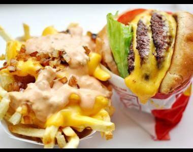 grasas trans y azúcares en la comida chatarra Fast food ¡la vía rápida para la enfermedad!