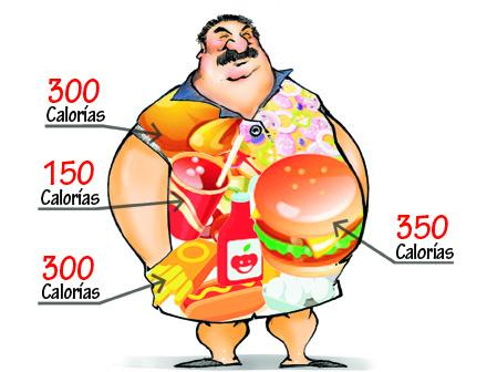 Obesidad y fast food ¡la vía rápida para la enfermedad!