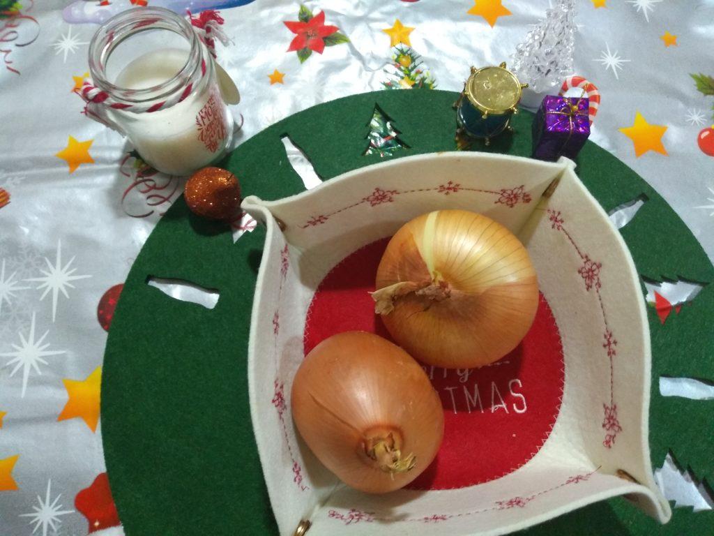 Dos cebollas
