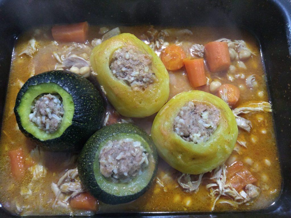 Verduras en bandeja