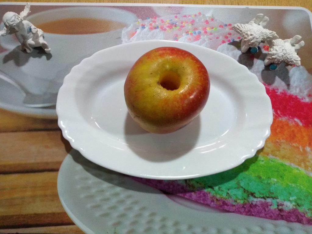 Manzana descorazonada