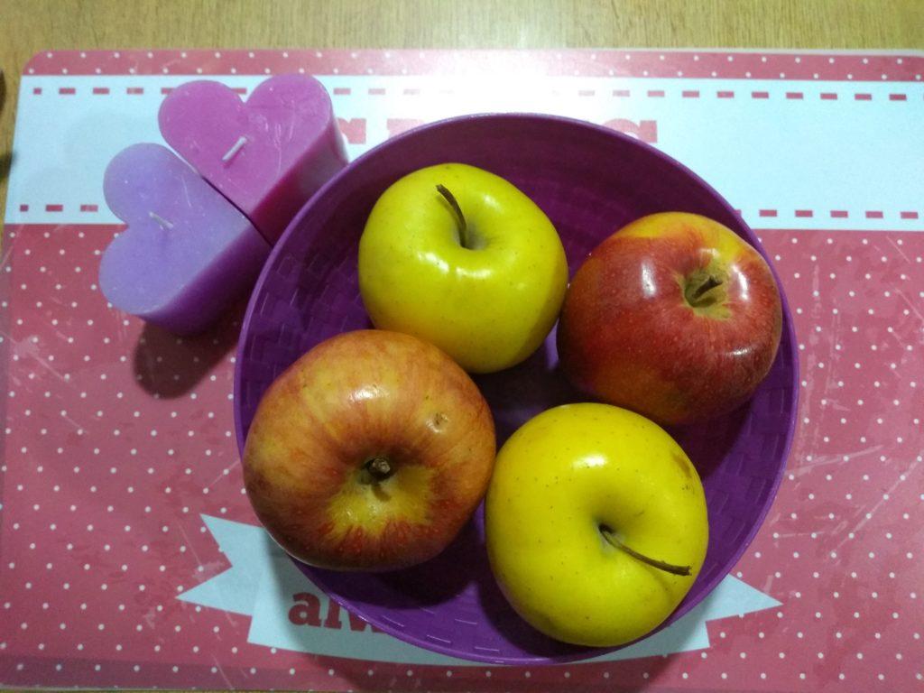 Manzanas para asar