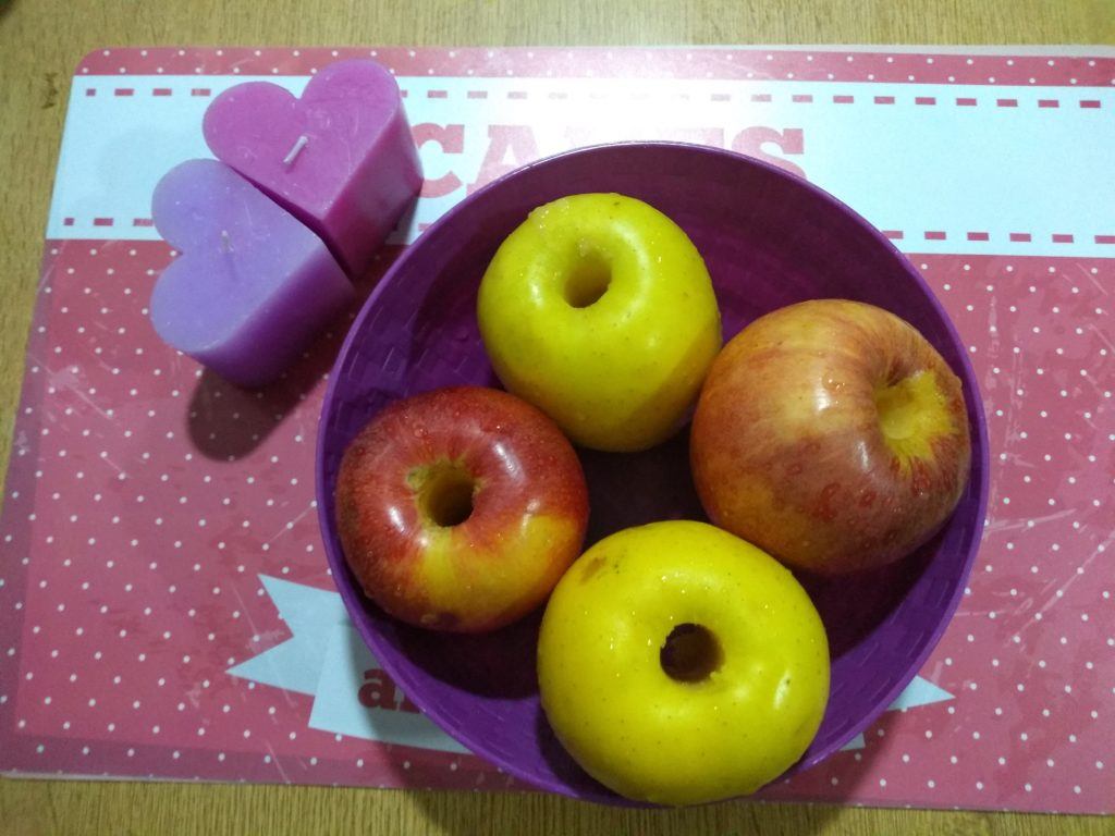 Manzanas descorazonadas