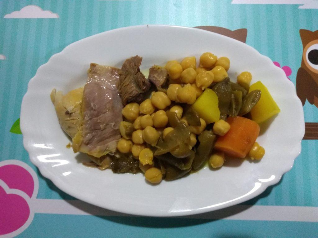 ¡El mejor cocido madrileño light!