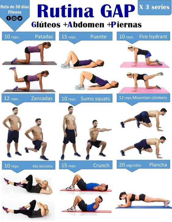 GAP el ejercicio perfecto