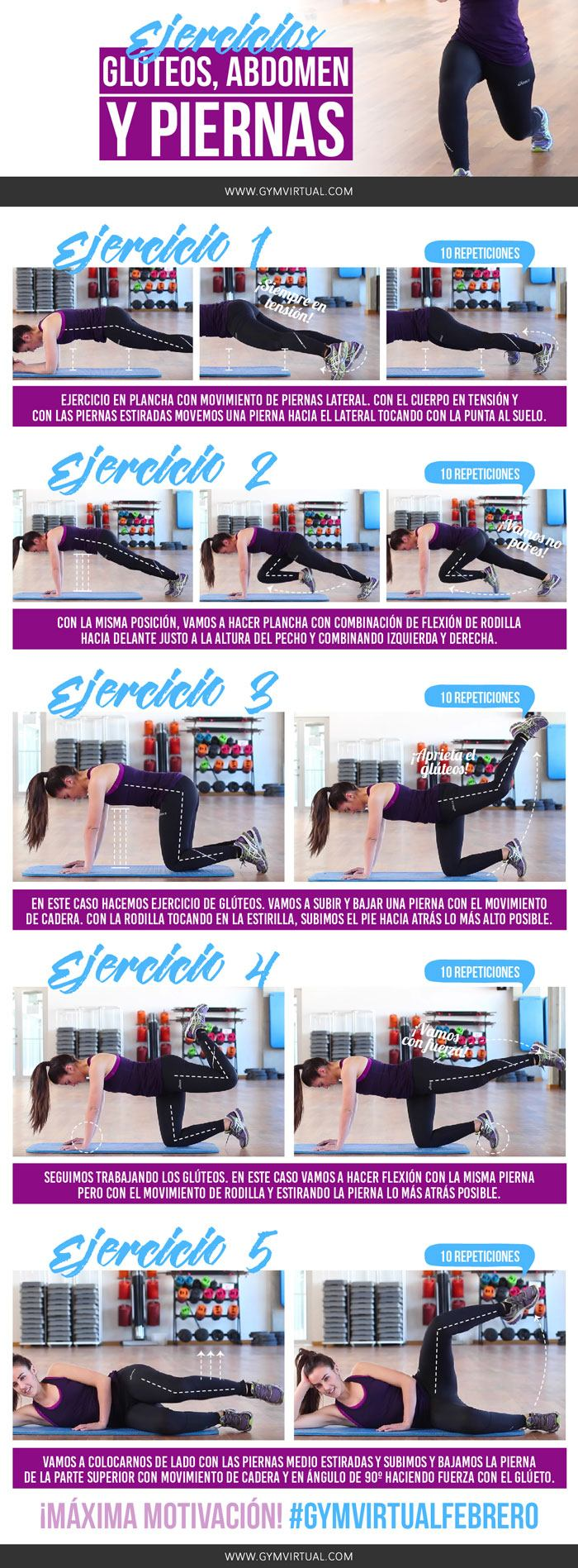 5 ejercicios de gap