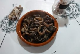 ¡Calamares en su tinta exquisitos!