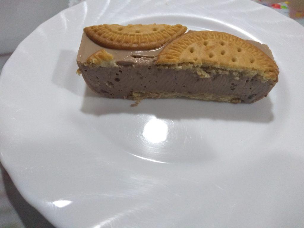 Porción de tarta