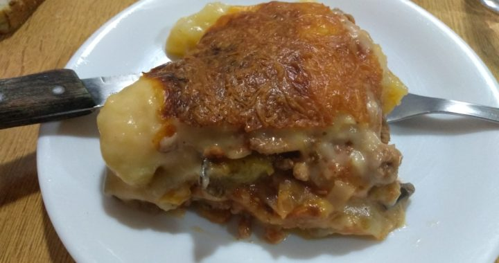 Pastel de carne rústico