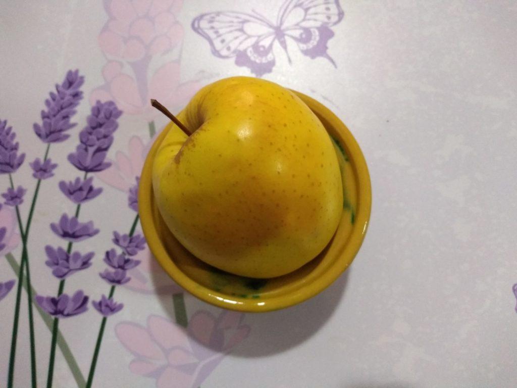 Bizcocho de manzana por error