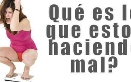 Cómo gestionar el estancamiento en la pérdida de peso