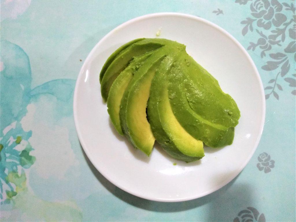 Aguacate verde color de esperanza