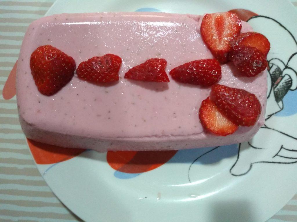 Pastel pink panter de fresa