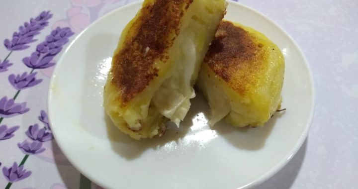 Sorpresas de patata a la japonesa