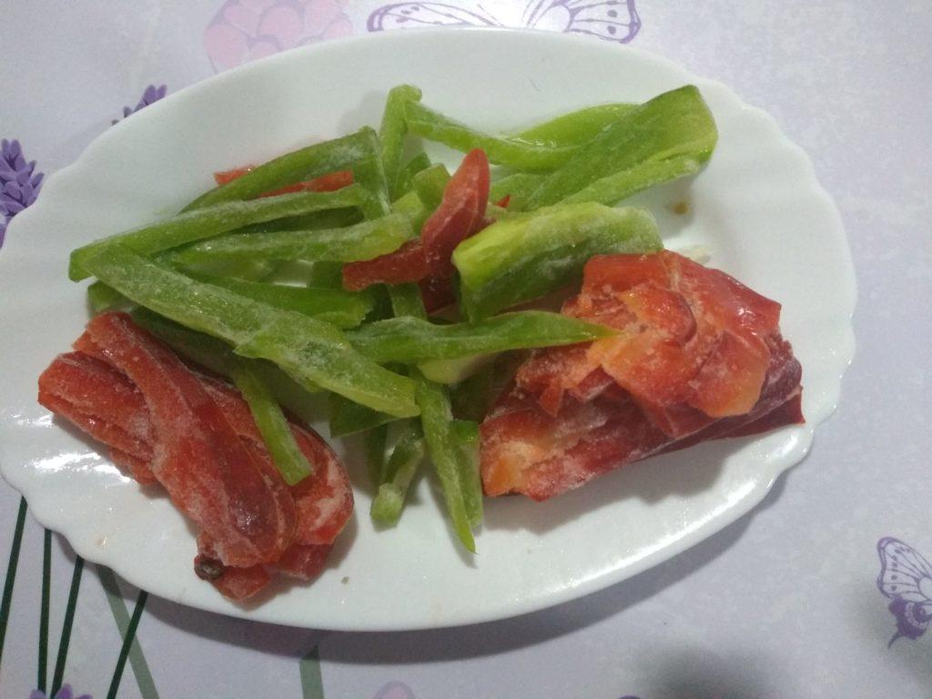 cuello de cordero al horno con verduras