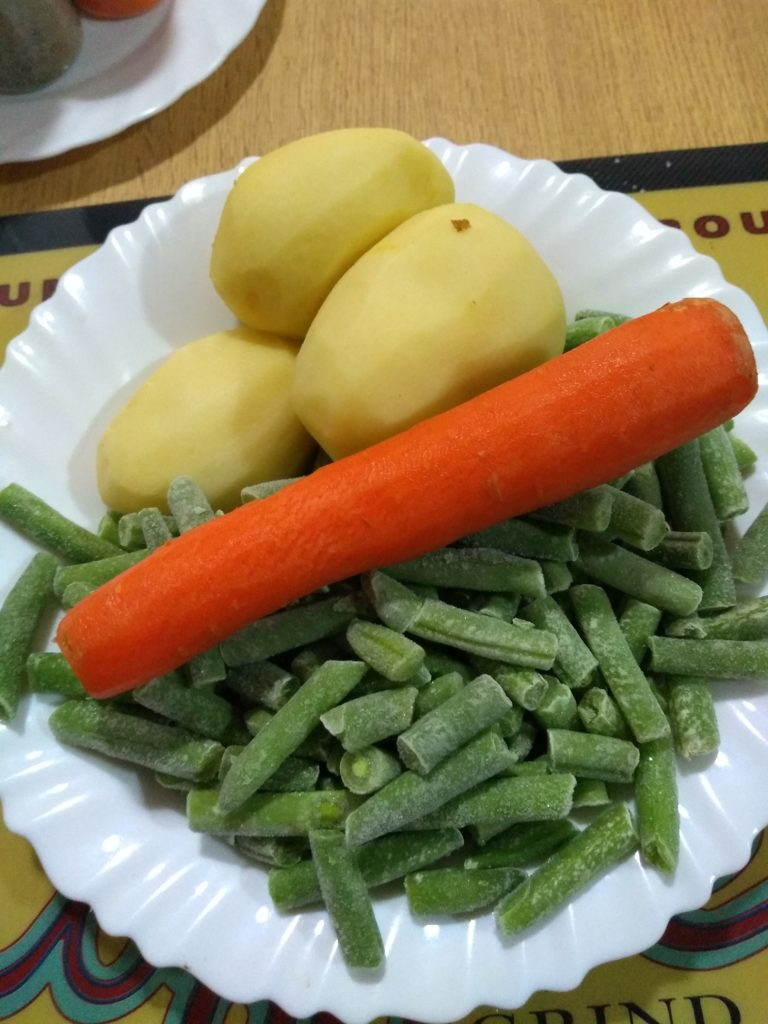 Patatas con cordero de Burgohondo