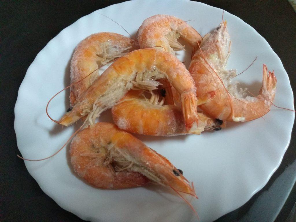 Filete de pescado en salsa marinera