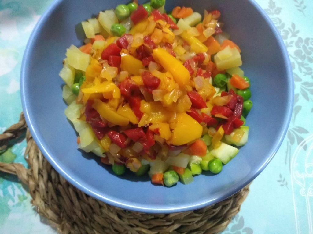 Verduras y pimientos
